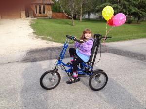 Isabelle's bike